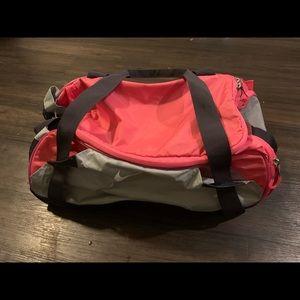 Hot Pink Nike Duffel